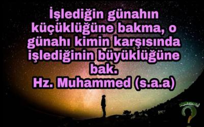 Günahın Çirkin Oluşunun Nedeni…